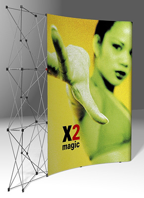 PopUp Display - X2 Magic