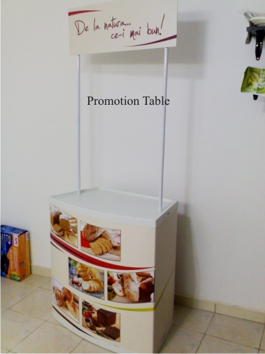 Promotion Table - forma dreapta
